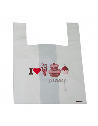 Shopper BIO pasticceria I LOVE SWEETS