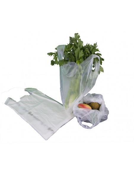 Shopper BIO per alimenti a strappo